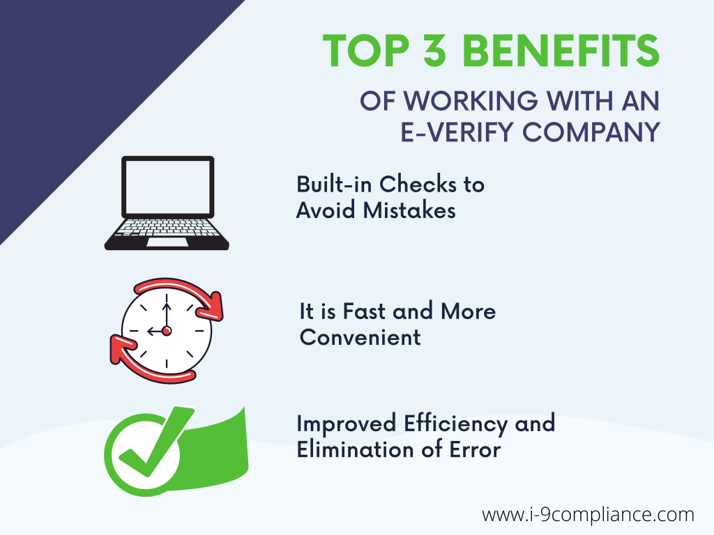 Benefits of Working with an E-Verify Company
